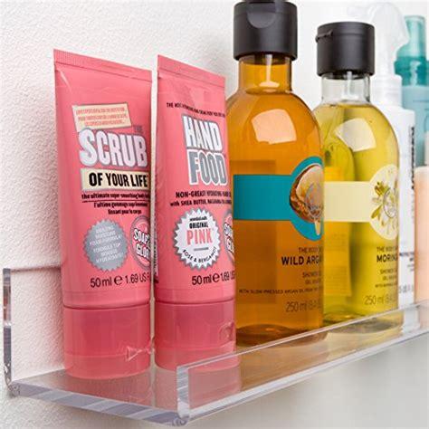 acrylic bathroom shelves acrylic bathroom shelves space saving rustproof