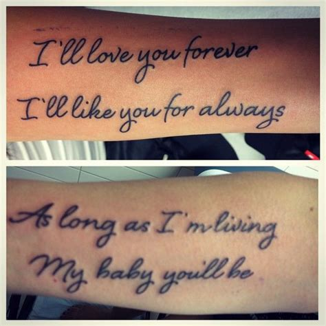 mother daughter quotes for tattoos 1000 ideas about tattoos on