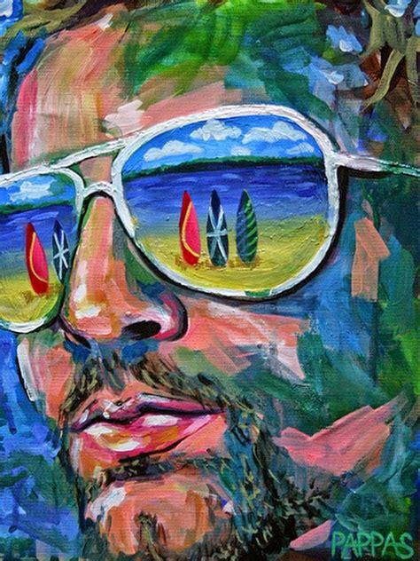 imagenes rostros abstractos cuadros modernos pinturas y dibujos pintura abstracta