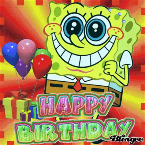 Spongebob Birthday Quotes Happy Birthday To My Son Adam Who Just Turned 8 Yrs Old