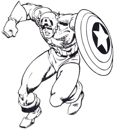 Captain America Color Pages 8 free captain america coloring pages to print