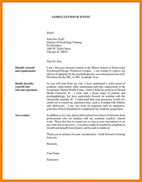 Letter Of Intent Of Application 5 letter of intent application commerce invoice