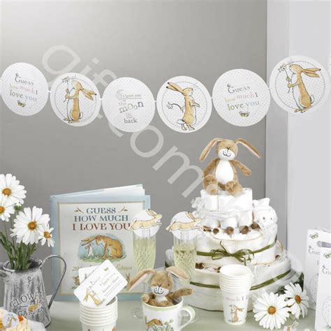guess    love  unisex baby shower party