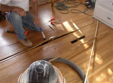 dealing with damaged hardwood floors russ wardlow