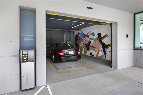 ww garage west debuts automated parking garage designed by