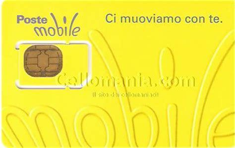 numero credito poste mobile postemobile cellomania