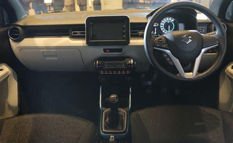plus delta car interior design maruti suzuki ignis interior design space and features