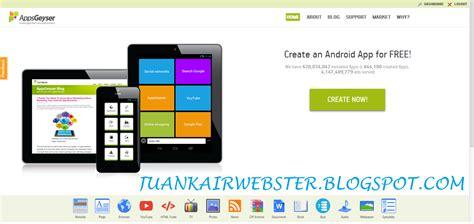 aplikasi membuat game android di hp cara membuat aplikasi android blog sendiri juankair webster