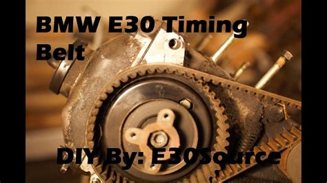 official bmw  timing belt replacement es ix
