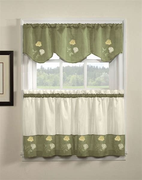 kitchen curtains green kitchen amusing bed bath and beyond kitchen curtains