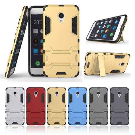 Meizu Mx5 Mx 5 Iron Armor Stand Casing Cover T1310 2 aliexpress buy for meizu m3 note pro 5 impact cover iron armor phone shell for meizu