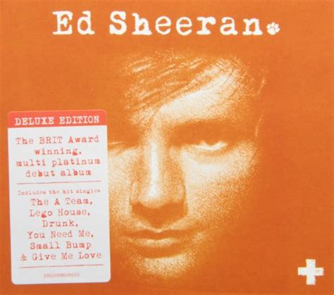 Kaos Ed Sheeran Plus deluxe version ed sheeran