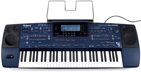 Keyboard Roland Em 2000 roland em 2000 entertainerkeyboard mit lautsprechern em2000 va ovp 1j gew 196 hr