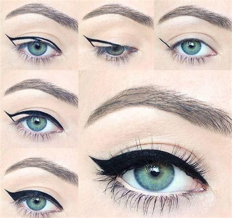 eyeliner tutorial step by step winged eyeliner tutorial step by step style arena