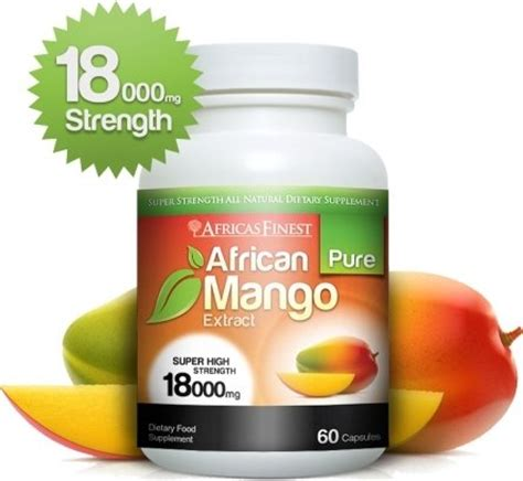 mango extract 18 000mg review