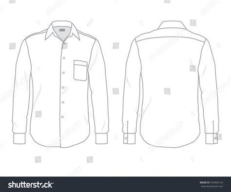 dress shirt card template blank s dress shirt white button shirt