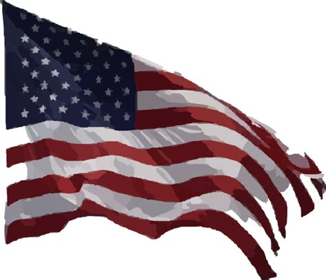 american flag clipart american flag clip at clker vector clip