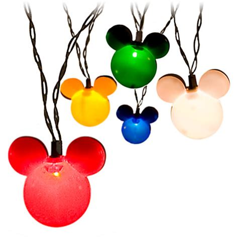 mickey mouse string lights mickey lights in stock the dis disney