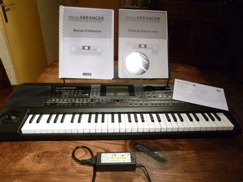 Keyboard Micro Arranger korg microarranger image 715383 audiofanzine