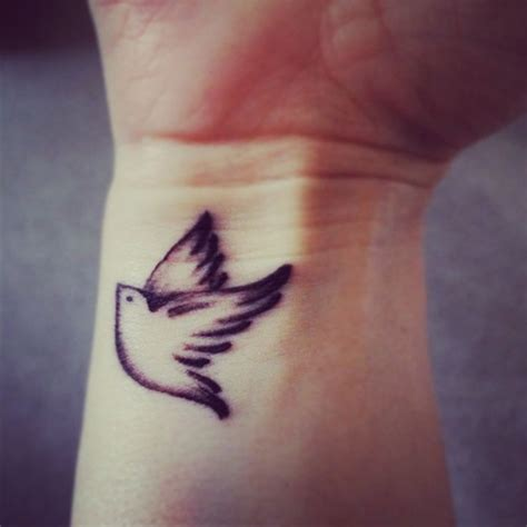small love bird tattoos my bird wrist my next ideas