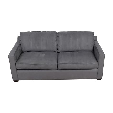 davis sofa davis sofa 44 off crate barrel davis grey sofa sofas thesofa