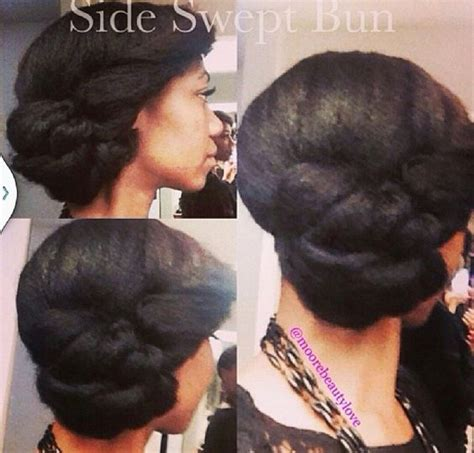 how to comb a bun with side swept bangs side swept bun to learn how to grow your hair longer