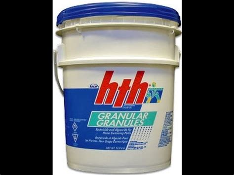 Pool Care Tips use calcium hypochlorite pool chlorine common mistakes