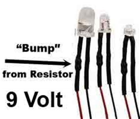 led resistor for 9 volt tips for using leds and some frequently asked questions answered lights for minis