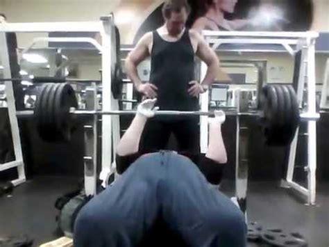 bench press slingshot uk regular barbell bench press 435 pounds with the mad dog