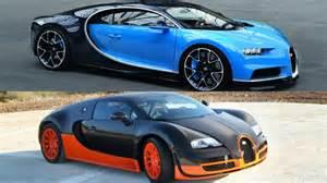 Bugatti Veyrons 2017 Bugatti Chiron Vs Bugatti Veyron