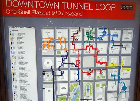 houston tunnel map tunnels and skyscrapers seeing houston from above and below travel