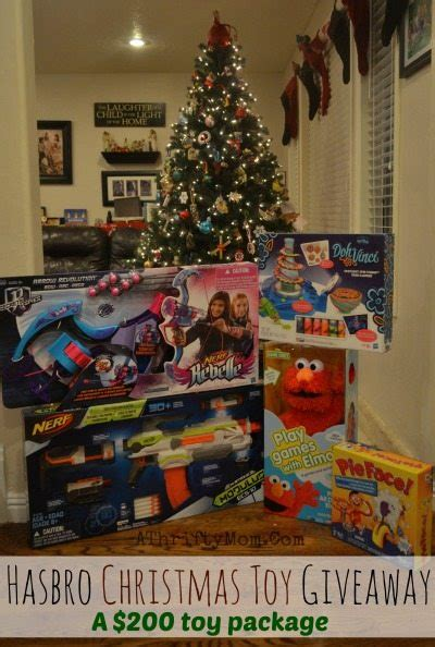 Christmas Toy Giveaways - hasbro toys christmas giveaway a thrifty mom recipes crafts diy and more