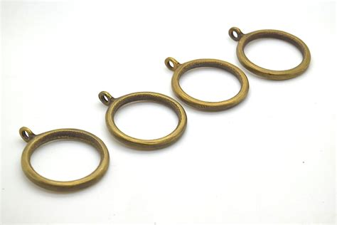 curtain hooks for pole rings 4 x brass curtain rings curtain hooks curtain pole ties