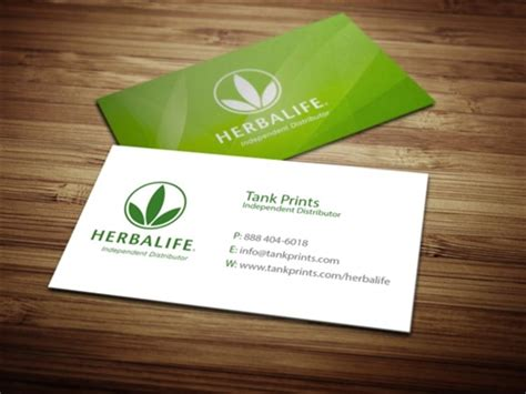 card products herbalife business card design 4 tank prints