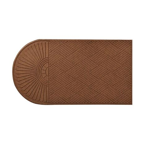 Brown Rubber Door Mat Trafficmaster Brown 48 In X 72 In Synthetic Surface And