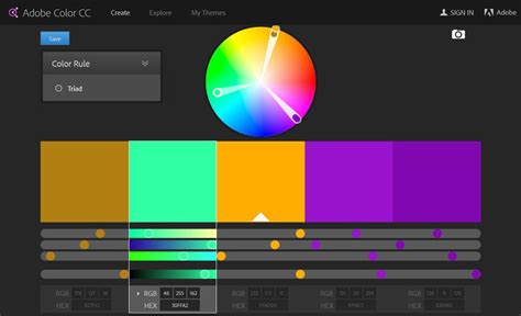color pairing tool choosing the color palette part 2 tools for pairing colorwheel choosing the color palette part