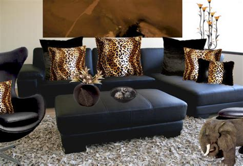 leopard print living room ideas gafunkyfarmhouse this n that thursdays animal themed interior d 233 cor