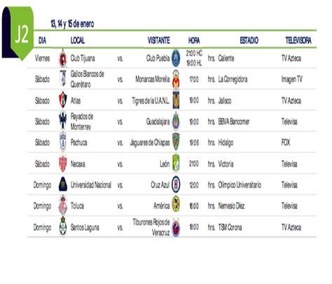 C2017 Calendar Calendario Liga Bancomer Mx 2016 Calendar Template 2016