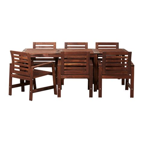 Ikea Patio Tables 7 Tile Top Metal Patio Dining Furniture Set 499 Table Dimensions 28 0 Quot H X 39 75 Quot W X