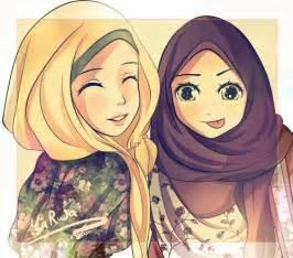 Gambar gambar animasi atau kartun tanpa hijab sekarang saya akan