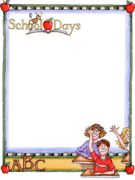 School Board Template Back To School Bulletin Board Writing Paper Templates