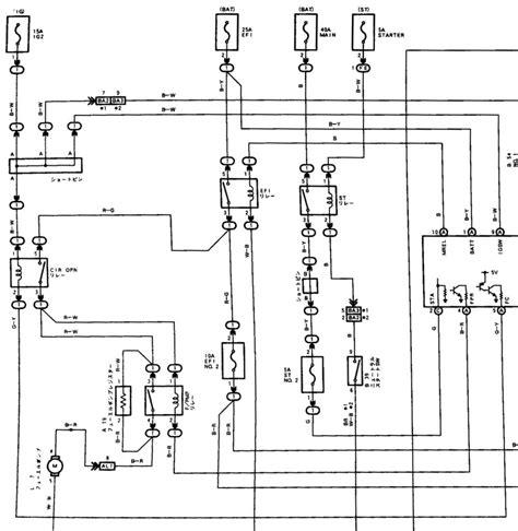 toyota cressida mx83 wiring diagrams repair wiring scheme