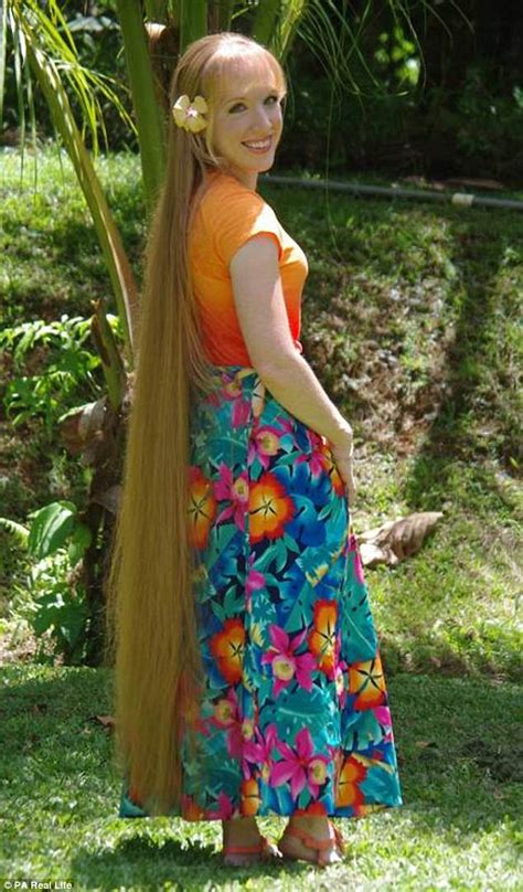 Real Like Rapunzel Has 64 Inch Hair She Refuses To Get Cut | real like rapunzel has 64 inch hair she refuses to get cut