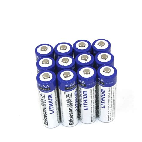 Shelf Of Lithium Batteries by 12pcs Lot Etinesan Lithium Ion 1 5v Powerful Aa