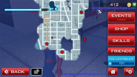 game spiderman apk data mod the amazing spider man 2 v1 2 2f mod apk data offline