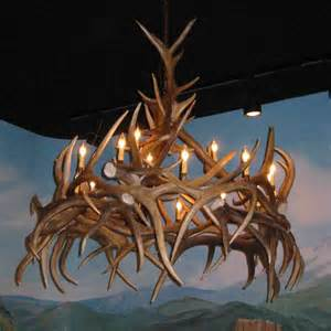 How To Make Antler Chandelier Elk Antler Chandelier Decor Ideasdecor Ideas
