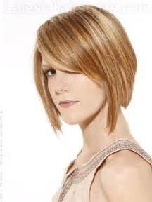 shorter hairstyles with side bangs and an angle latest short choppy hairstyles 2012 fashion designer quot