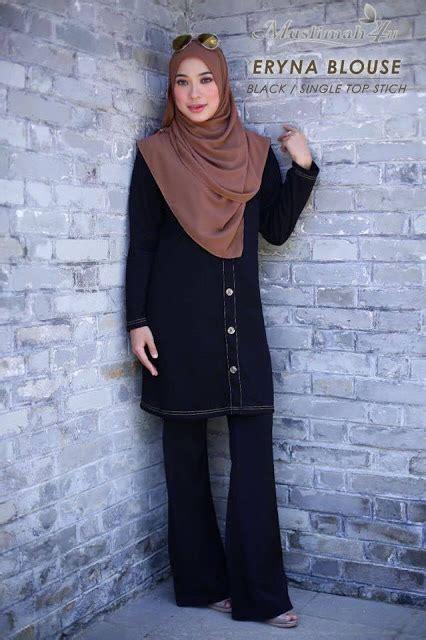 Baju Blouse Lq 19 Silveria butik aludra 2017