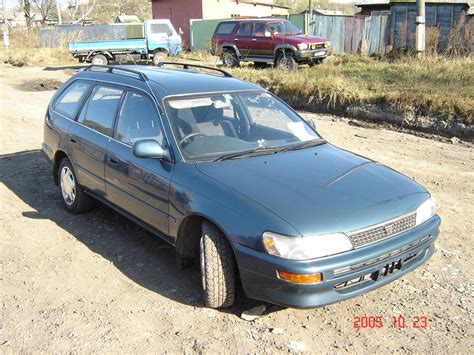 Toyota Corolla Hatchback 1994 1994 Toyota Corolla Hatchback Images