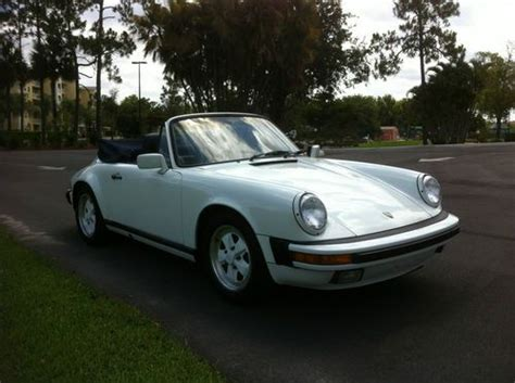 where to buy car manuals 1989 porsche 911 navigation system buy used 1989 porsche 911 carrera cabriolet in fort myers florida united states